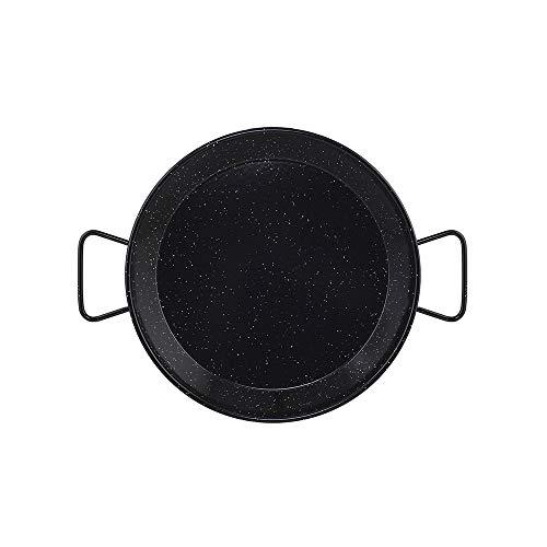 Metaltex - Paellera Acero Esmaltado 8 Raciones 38 cm