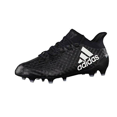 adidas Herren X 16.1 FG Fussballschuhe,schwarz - Weiß,,41 1/3 EU