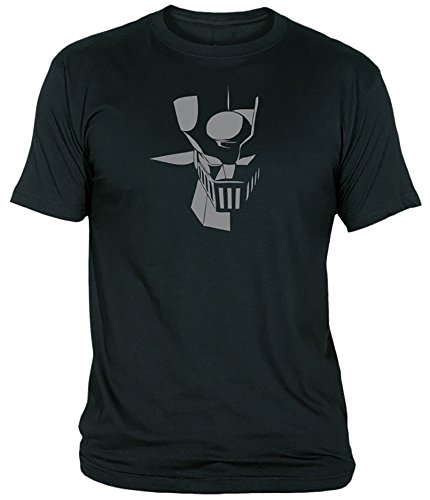 Desconocido Camiseta Mazinger Z Adulto/niño EGB ochenteras 80´s Retro (4XL, Negro)