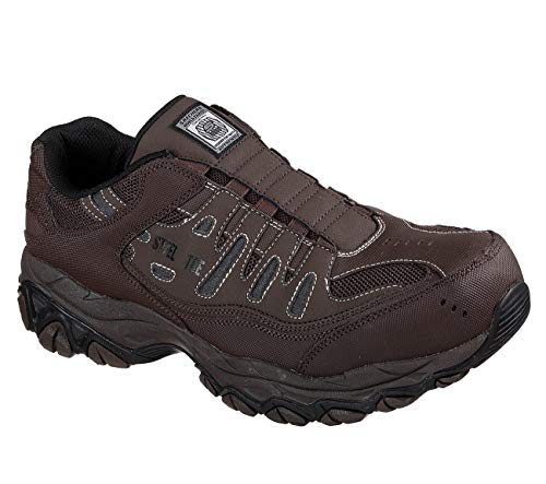 Skechers 77161 Men's Work: Crankton Ebbitt Steel Toe Shoe