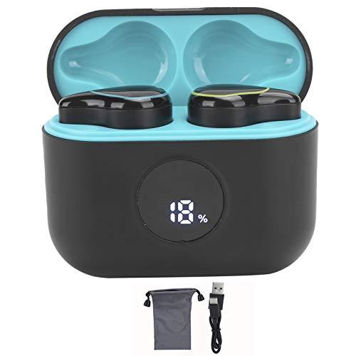 Fone de ouvido, fone de ouvido sem fio leve, fone de ouvido à prova de suor, fone de ouvido esportivo para casa(dark green)