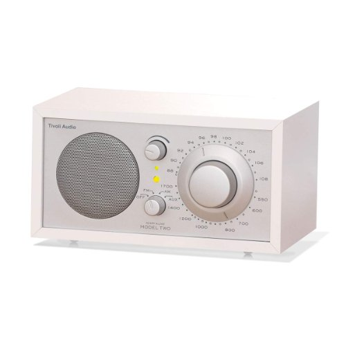 Tivoli Model One Radio - weiß / silber