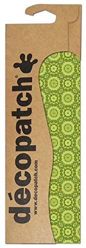 Decopatch papier nr. 643 (groen tegelpatroon, 395 x 298 mm) 3-pack