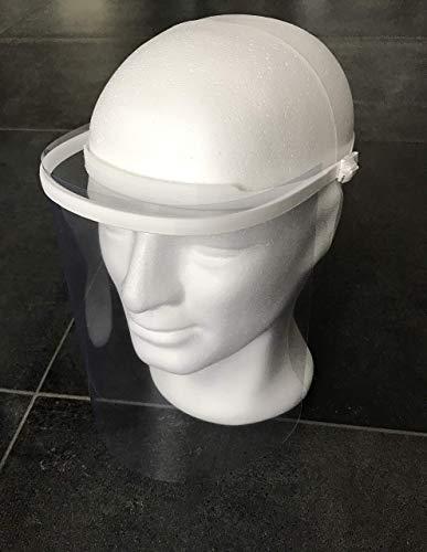 Gesichtsschutz Gesichtsschild Schutzvisier Visier Schild Spuck-Schutz inkl. 2 Folien