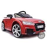 Audi TT RS 12v Licenciado con mando - Coche eléctrico para niños -...