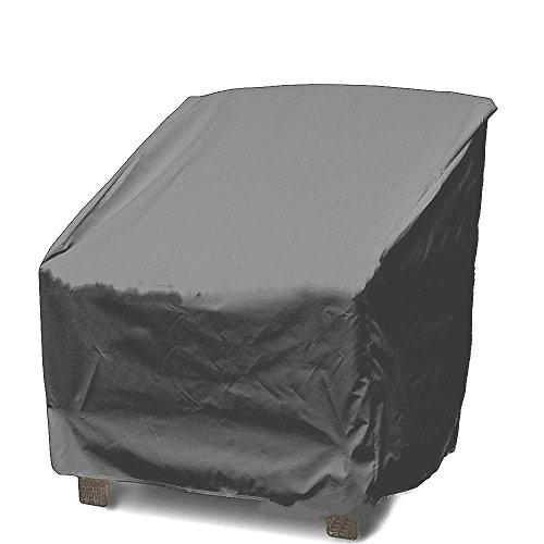 Mitefu Housse de Protection pour Chaise/Chaise Longue, Imperméable et Anti-poussière pour Couverture pour Meuble de Jardin, Patio, Grisee