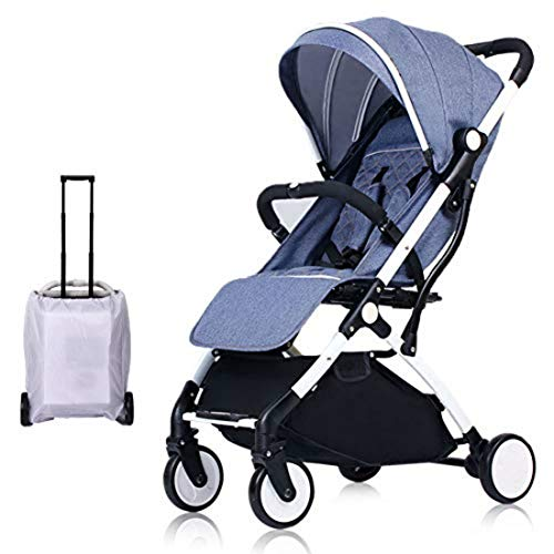 Lightweight Stroller,Compact Travel Buggy,One Hand Foldable,Five-Point...