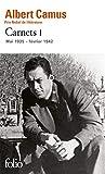 Carnets tome 1: Mai 1935 - Fevrier 1942 (Folio)