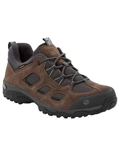 Jack Wolfskin Vojo Hike 2 Texapore Low, Scarpe da Arrampicata Basse Uomo, Marrone (Dark Wood 5690), 39.5 EU