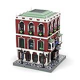 Morton3654Mam Bloques de construcción modular para casa MOC-65384, 3586 piezas para acuario iSea Acuario, Centro de inmersión y Palacio Venecia, bloques de construcción compatible con Lego