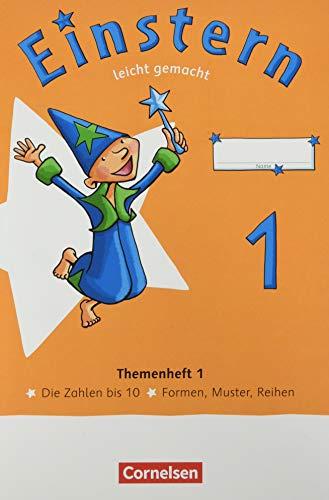 Einstern - Mathematik - Ausgabe 2021 - Band 1: Leicht gemacht - Themenhefte 1-4, Diagnoseheft und Kartonbeilagen im Paket - Verbrauchsmaterial