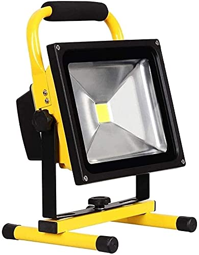 NYZXH Luz de iluminación LED LED LED LED de LED con Soporte |IP 65 Foco de Seguridad de Emergencia Impermeable para el Garden Garage Camping Iluminación (Tamaño: 30W) (Size : 50W)