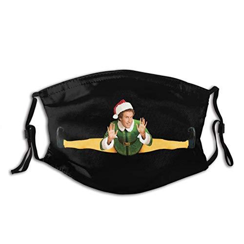 Buddy the Elf - Funda de máscara unisex reutilizable para exteriores y protección contra el polvo