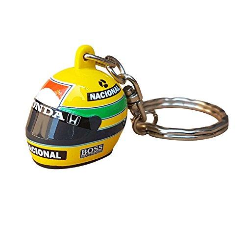 Minichamps Ayrton Senna 3D Schlüsselanhänger Helm 1988