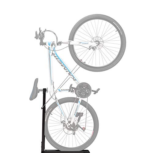 Bike Stand, Vertical Bicycle Floor Stand, Portable and Stationary Space-Saving Rack with Adjustable Height, for Indoor Bike Storage