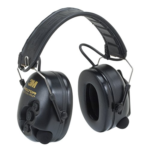 3M Peltor TacticalPro Communications Headset MT15H7F SV, Hearing Protection, Ear Protection, NRR 26 dB Excellent for heavy equipment operators, airport workers, shooting and industrial workers