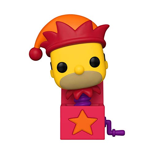 Funko- Pop Animation: Simpsons-Homer Jack-In-The-Box Figura Coleccionable, Multicolor (50145)