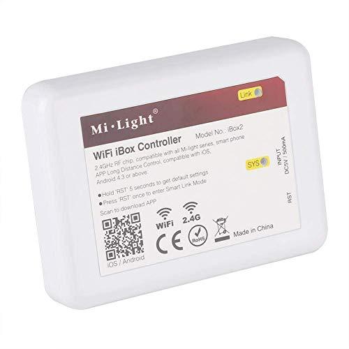 Küchenks WiFi iBox Controller, Mi.Light 2,4 GHz WiFi Bridge Controller Fernsteuerung WiFi iBox Controller für die Hauptbeleuchtung