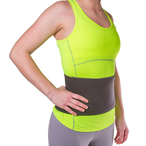 BraceAbility Abdominal Treatment Wrap for Diastasis Recti | Breathable, Non-Slip Postpartum Tummy Slimming Band for Stomach Muscle Support, Back & Waist Compression After Pregnancy (Medium)