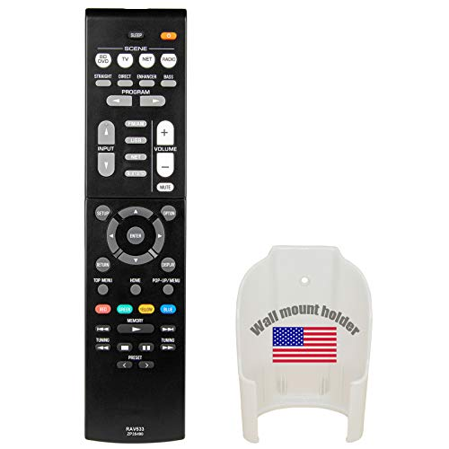 Replacement for Yamaha Home Theater Audio Receiver Remote Control Model RAV534 ZP45780 Part Number ZP457800