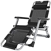 ZNBJJWCP Leisure Home Recliner Folding Lunch Break Balcony Backrest Nap Chair Portable Chair Old Beach Lazy Couch