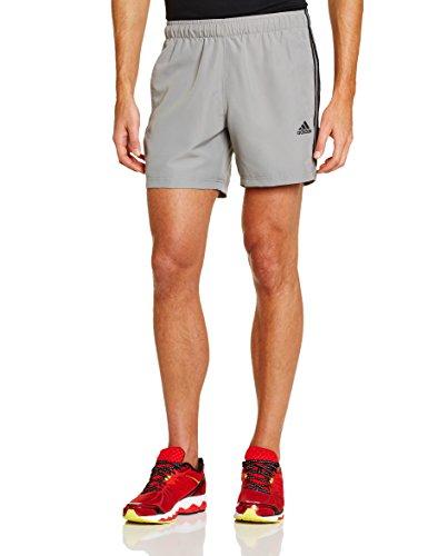 adidas Essentials Chelsea - Pantaloncini Corti da Uomo, Logo a 3 Strisce, Grigio (Ch Solid Grey/Black), M