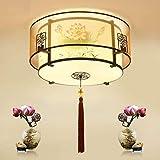 Plafoniere Durevoli Lampada da Soffitto Cinese LED Lampada da Soffitto Acrilico Doppio Paralume Camera da Letto Rotonda Soggiorno Plafoniera da Soffitto Creativo Plafoniera Hyococ