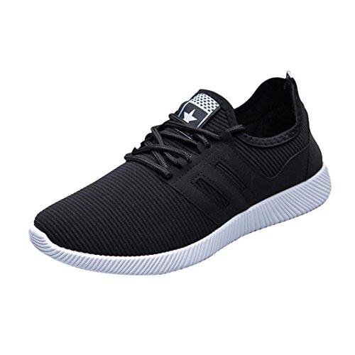 HOMEBABY Mannen hardloopschoenen - Jongens Ademende Sportschoenen Casual Sneakers Gym Trainers Outdoor Yoga Fitness Wandelen Lichtgewicht Schoenen