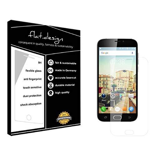 1x Bildschirm Schutz für Doogee X9 Pro Screen Bildschirmschutz Schutzfolie kristallklar Flexible Folie, robust wie Glas. Qualität, Nachhaltigkeit und Fairness Made in Germany