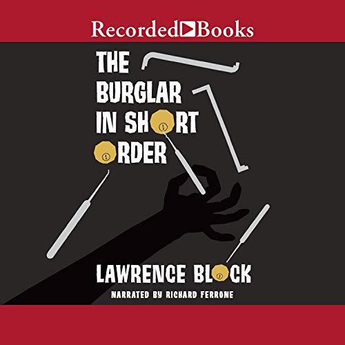 The Burglar in Short Order audiobook cover art