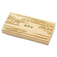 京からかみ木版スタンプ地紋観世水(かんぜすい)京都府の工芸品Karakami woodblock stamp
