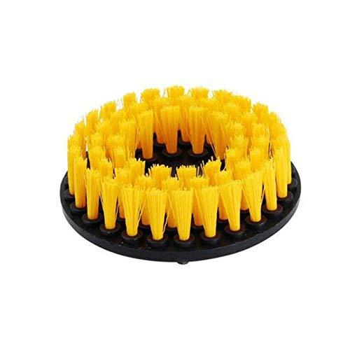 ffniwo KKKKKK Kit de Cepillo de perforación de Cepillo de depurador eléctrico Pincel de Limpieza Redonda de plástico (Color : 5inch Hollow)