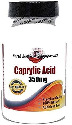 Max 63% OFF Caprylic Acid 350mg 200 Capsules Natural - Elegant EarhNatural by 100%