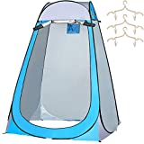 SIWANAMU Pop Up Tent Portable Toilet Shower Privacy Tent Waterproof and Sun-Proof Outdoor Shelter