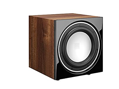 Dali E-9 F Active Subwoofer 170W Black, Walnut - Subwoofers/Subwoofers (170 W, Active Subwoofer, 37-200 Hz, 220 W, 111 dB, 40-120 Hz) from Dali
