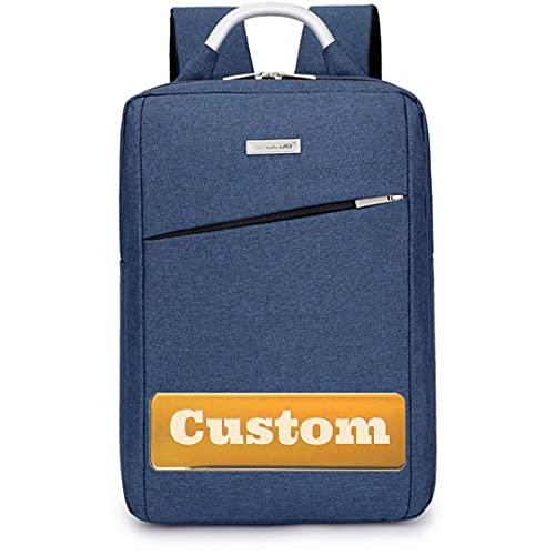MAYOUCHEN Manicotto for Laptop Impermeabile Personalizzato 13 con Cinturino for Notebook da 13 Pollici (Color : Blue, Size : One Size)