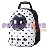 Petlicious & More Pet Backpack Carrier for Dog Cat Astronaut Capsule Breathable Travel