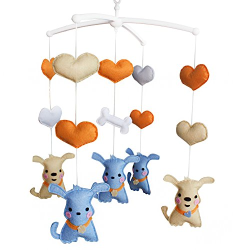 Musical Baby Mobile Lovely Baby Gift Nursery Mobile [Chien]