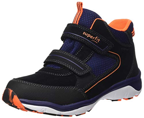 Superfit Jungen Sport5 Gore-Tex Hohe Sneaker, Schwarz (Schwarz/Blau 00), 33 EU