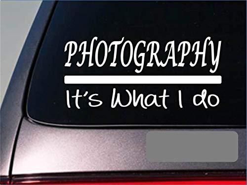 Autosticker, fotografie, stickers, camera, fotograf, verlichting, film, lens, venstersticker, 20 cm