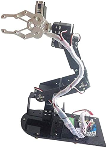 FLAMEER 6-DOF Acryl-Roboterarm-Kit Für Roboter DIY RC Spielzeug