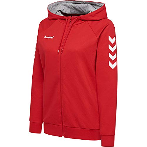 hummel Damen HMLGO Cotton Zip Hoodie Woman