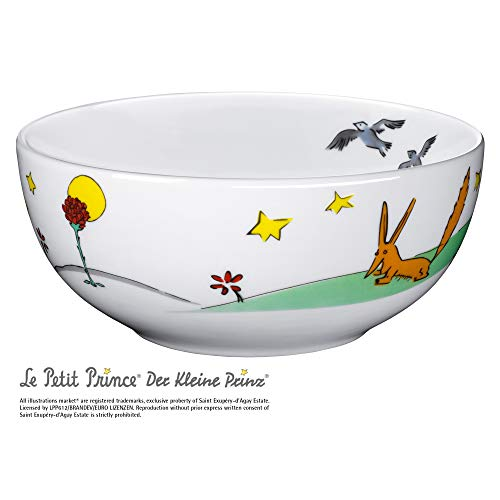 WMF Der kleine Prinz Kindergeschirr Kinder-Müslischale, Ø 13,8 cm, Porzellan, spülmaschinengeeignet, farb- und lebensmittelecht