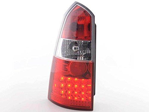 FK Automotive FKRLXLFO8003 LED Feux arrière, Rouge