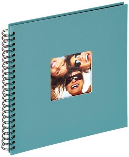 walther design SA-110-K Spiralalbum Fun, 30 x 30 cm, petrolgrün