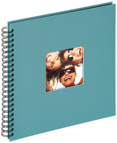 walther design SA-110-K Spiralalbum Fun, 30x30 cm, petrolgrün