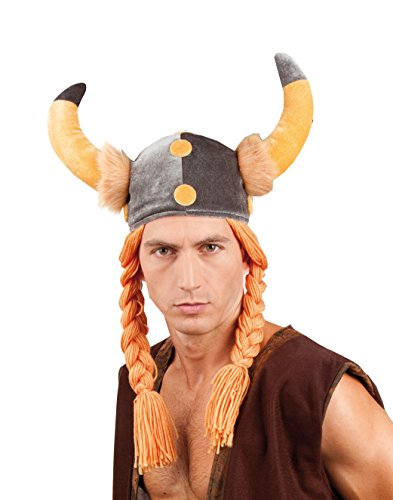 Gallic helmet for adults (gorro/sombrero)