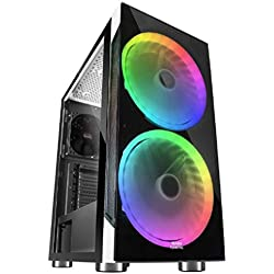 PC Gaming RGB • TrendingPC • AMD Ryzen 3 4300GE Pro 4X 4.00Ghz • Scheda grafica AMD Radeon Vega 7 Graphics • 16GB RAM DDR4 • 480GB SSD • Wi-Fi 300mbps • Windows 10 Pre • USB 3.0
