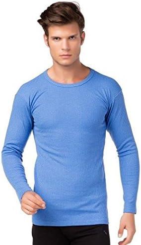 stylenmore Mens Thermal Undershirt Long Sleeve Ski Inner Fleece Cotton