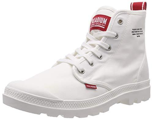 Palladium Unisex Hi Du C U Hohe Sneaker, Weiß (Star White L47), 43 EU